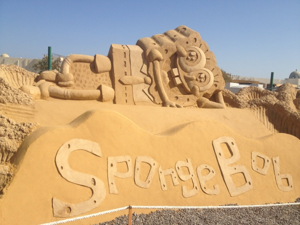 Sand City-the unique open air museum in Hurghada!